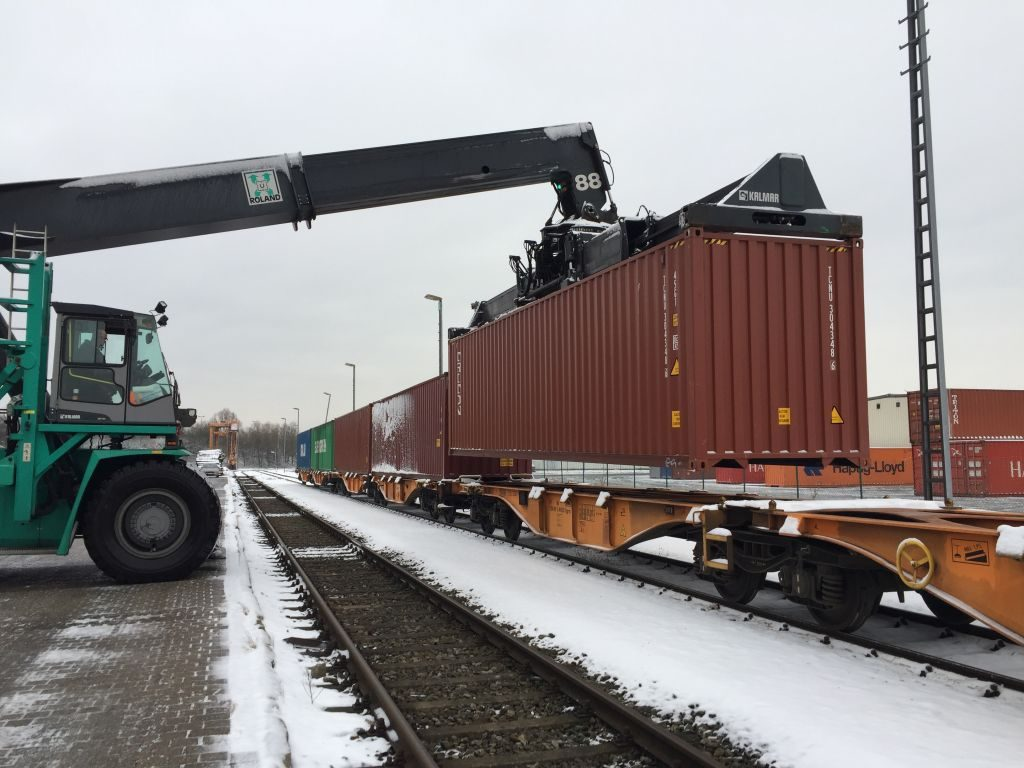 BHS Bahncontainerimport